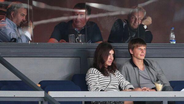 Андрей Аршавин и Алиса Казьмина. Архивное фото