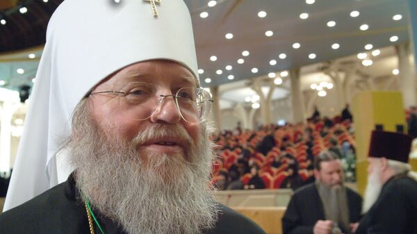 Первоиерарх РПЦЗ митрополит Восточно-Американский и Нью-Йоркский Иларион