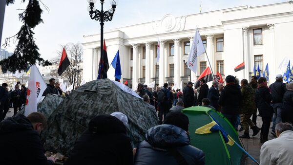 Ситуация в Киеве, Украина. Архивное фото