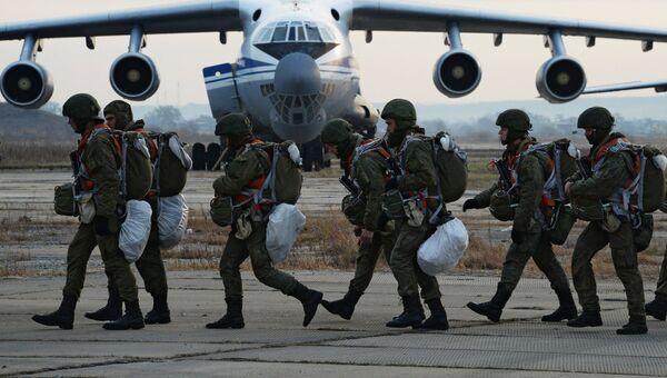 Военнослужащие Воздушно-десантных войск. Архивное фото