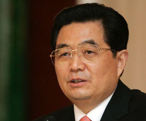 Председатель КНР Ху Цзиньтао. Архив