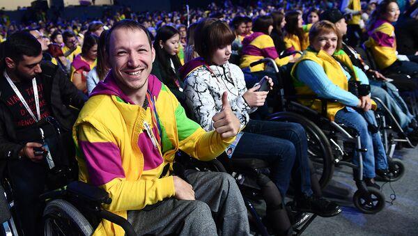 Более 40 маломобильных граждан приняли участие в фестивале молодежи в Сочи