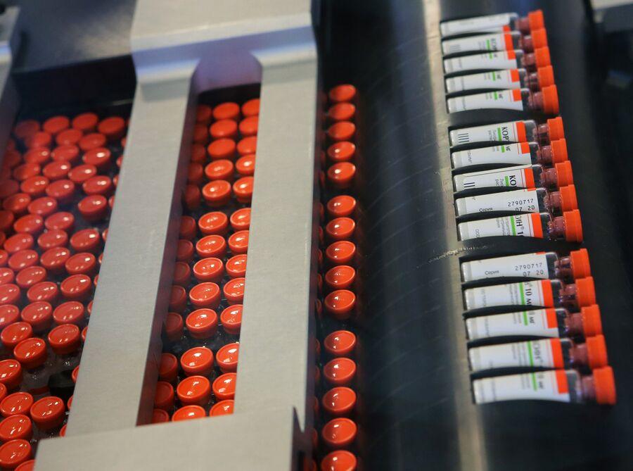 Производство лекарственных средств на заводе Герофарм