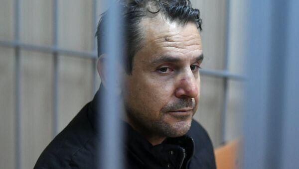 Подозреваемый в нападении на журналистку Эха Москвы Татьяну Фельгенгауэр. Архивное фото