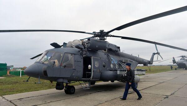 Вертолет авиационного соединения армейской авиации ЮВО. Архивное фото