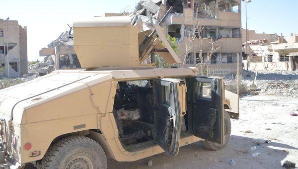Бронетехника Демократических сил Сирии. Архивное фото