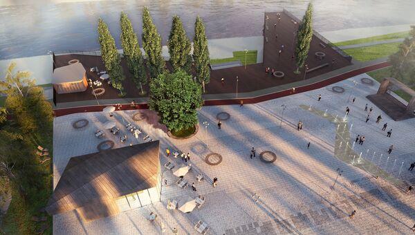 Проект реконструкции парка в Орехово-Зуево
