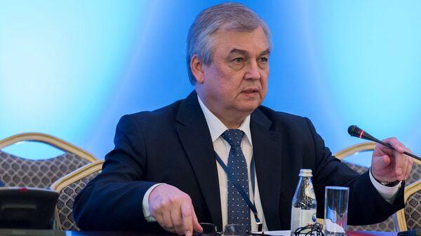 Спецпредставитель президента РФ по Сирии Александр Лаврентьев на международной встрече по сирийскому урегулированию в Астане