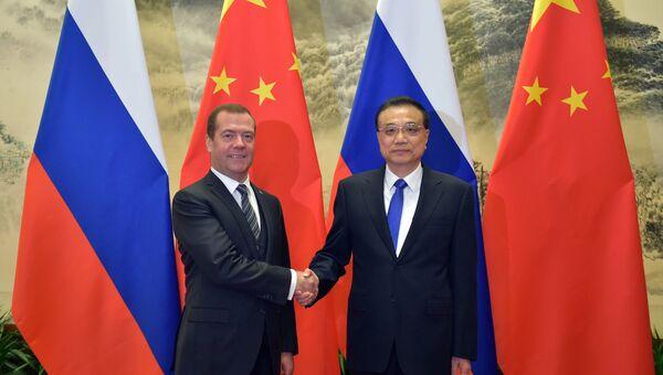 Официальный визит премьер-министра РФ Д. Медведева в Китай