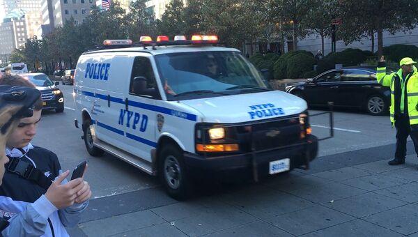 Полицейский автомобиль. США, Архивное фото