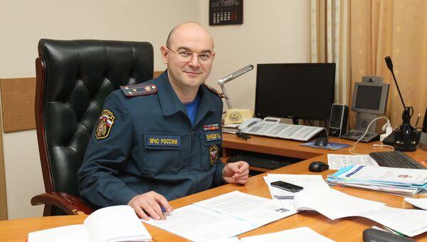Директор департамента надзорной деятельности и профилактической работы МЧС РФ полковника внутренней службы Ринат Еникеев