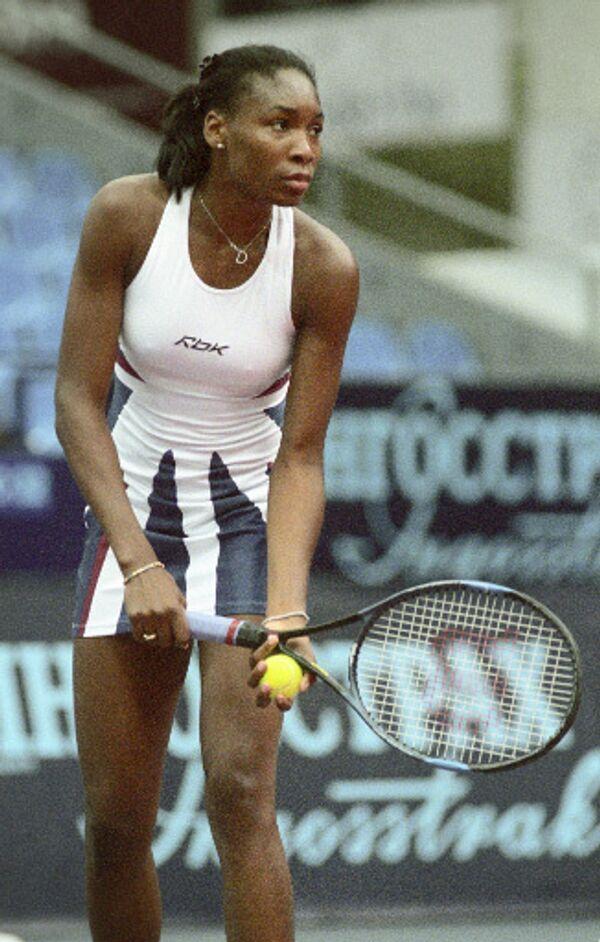 Теннисистка Винус Уильямс