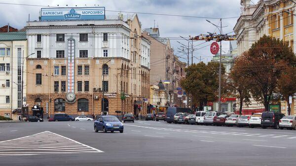 Площадь Конституции в Харькове. Архивное фото