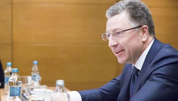 Спецпредставитель Госдепартамента США по Украине Курт Волкер. Архивное фото