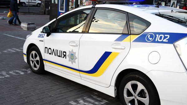 Автомобиль украинской полиции