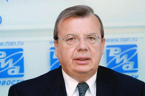 Глава управления ООН по наркотикам и преступности Юрий Федотов