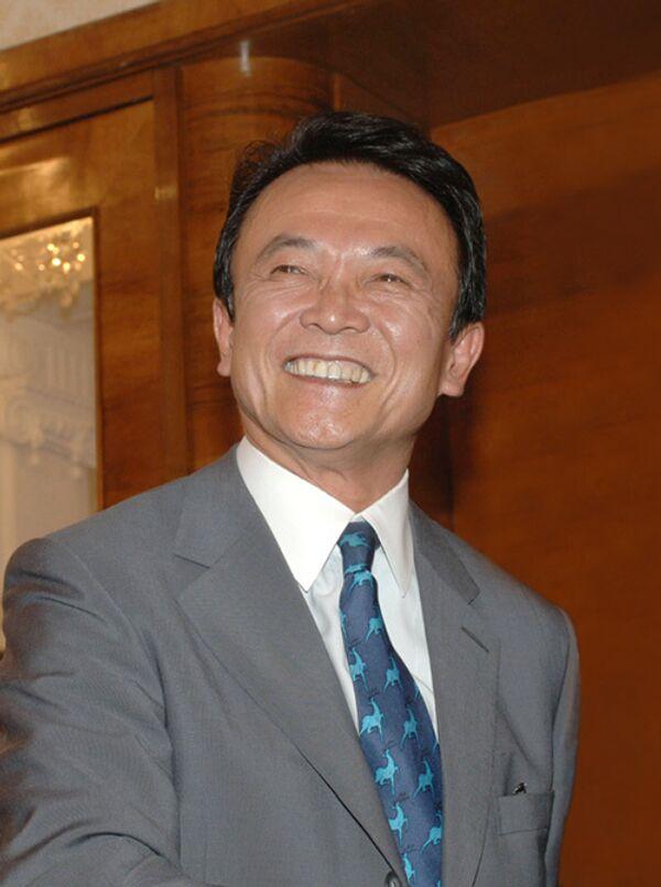 Премьер-министр Японии Таро Асо