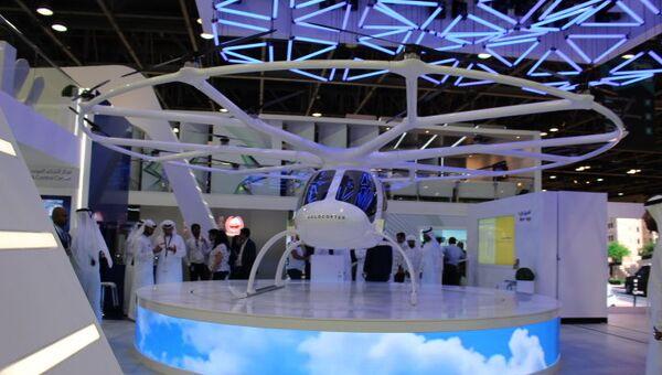 Аэротакси на выставке GITEX-2017 в Дубае