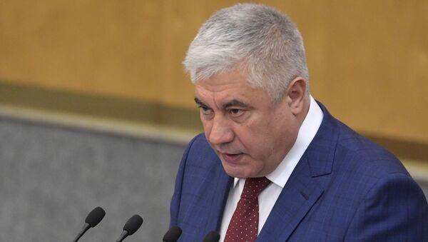 Министр внутренних дел РФ Владимир Колокольцев. Архивное фото