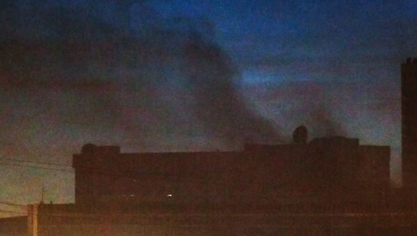 Возгорание на одном из технических объектов Службы внешней разведки РФ. 8 ноября 2017