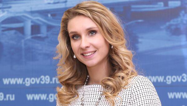 Вице-премьер – министр спорта правительства Калининградской области Наталья Ищенко