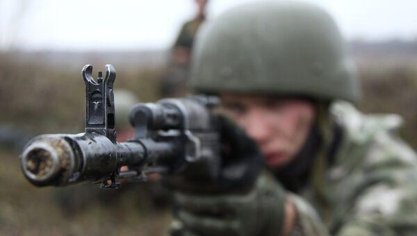 Военнослужащий ДНР. архивное фото