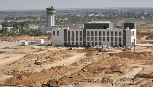 Строительство нового терминала аэропорта Симферополь