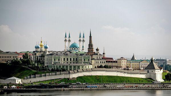 Вид на Казань. Архивное фото