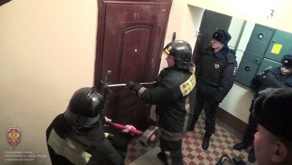 Силовая операция по задержанию сторонников запрещенной в РФ экстремистской организации Таблиги Джамаат в Москве
