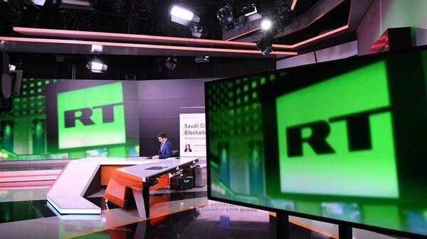 Студия телеканала RT