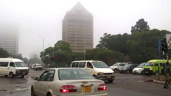 Столица Зимбабве Хараре. 15 ноября 2017