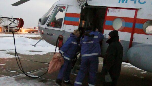 Вертолёт Ми-8 МЧС России вылетел из Хабаровска в Нелькан