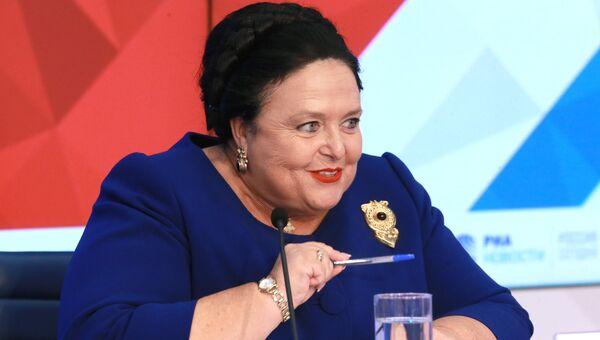 Пресс-конференция главы Российского императорского дома великой княгини Марии Владимировны