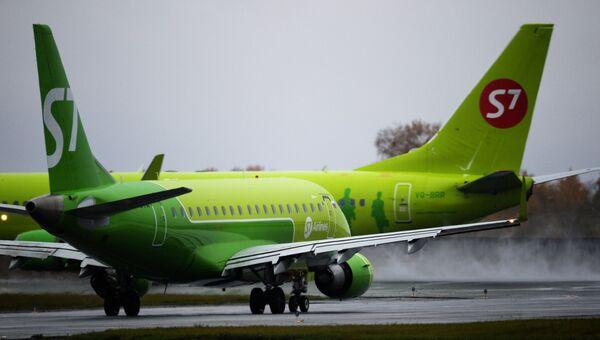 Самолет авиакомпании S7 Airlines. Архивное фото