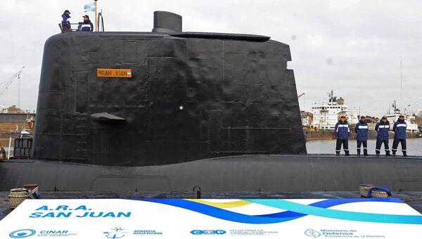 Аргентинская подводная лодка Сан Хуан. Архивное фото