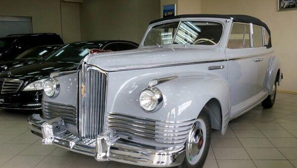 Автомобиль ЗИС-110В кабриолет. Архивное фото