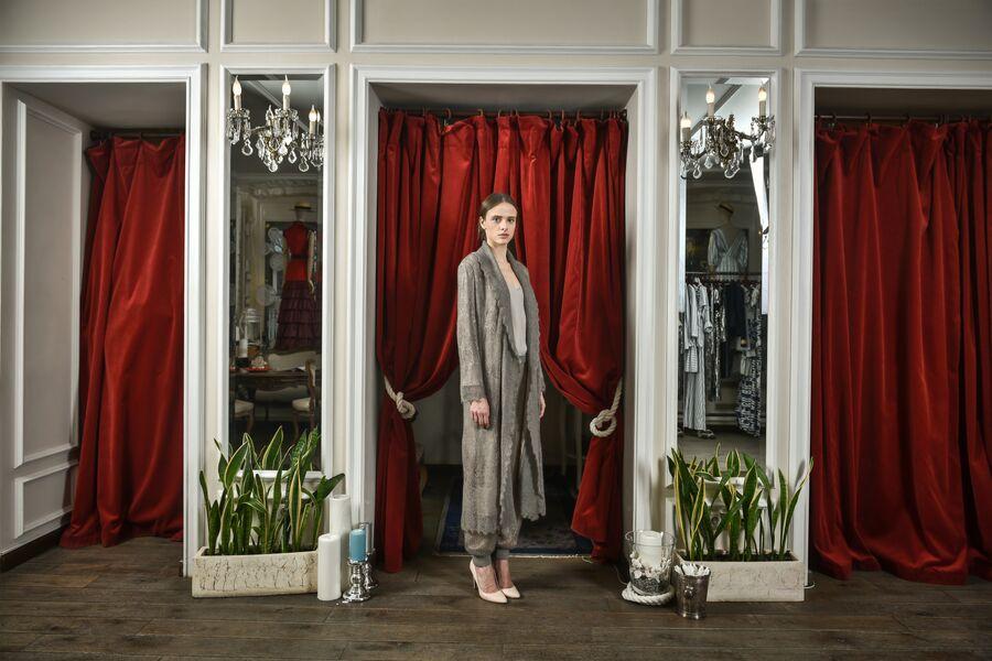 Коллекция Оренбург осень-зима 2013/2014 A LA RUSSE Anastasia Romantsova