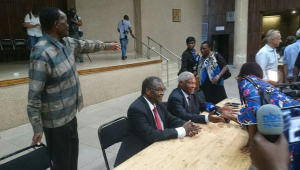 Заседание правящей партии Зимбабве. Архивное фото