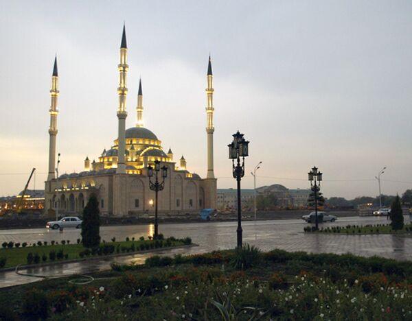В Грозном открывается новая мечеть