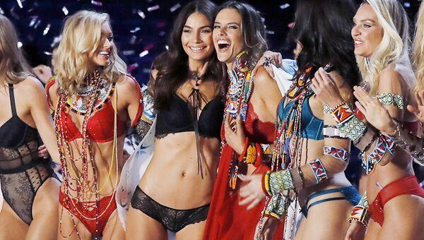Показ Victoria's Secret в Шанхае
