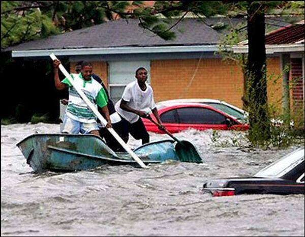 Наводненение после урагана Катрина