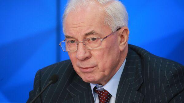 Глава Комитета спасения Украины, экс-премьер страны Николай Азаров. Архивное фото