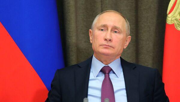 Владимир Путин проводит совещание с руководством Минобороны, оборонно-промышленного комплекса, главами министерств и регионов. 22 ноября 2017