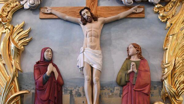 Изображение Иисуса Христа. Архивное фото