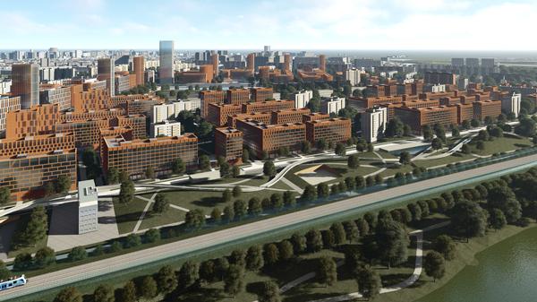 Концепция площадки реновации в районе Царицыно от АБ Sergey Skuratov architects