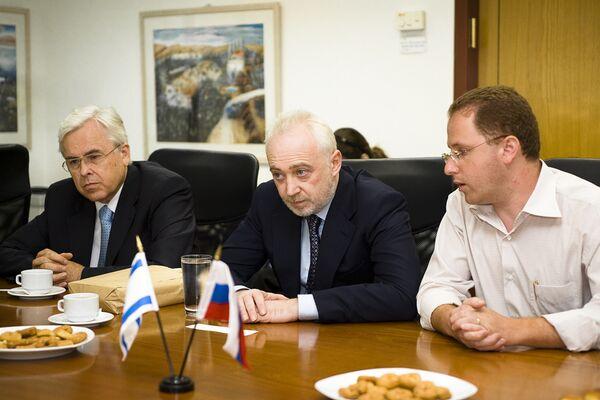Делегация Роснанотехника в Израиле