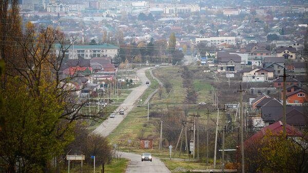 Вид на город Майкоп