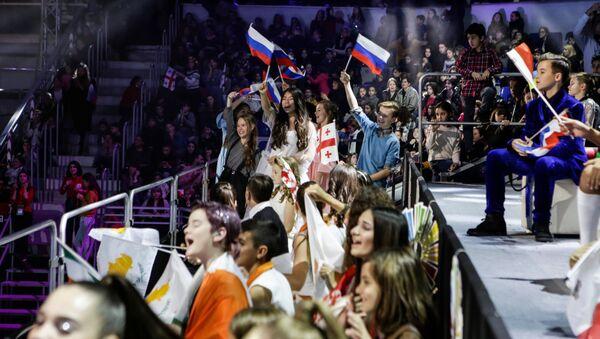 Болельщики во время конкурса Детское Евровидение. Архивное фото