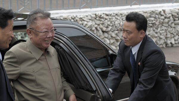 Ким Чен Ир. Архивное фото