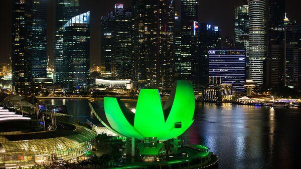 Города мира. Сингапур. Архивное фото